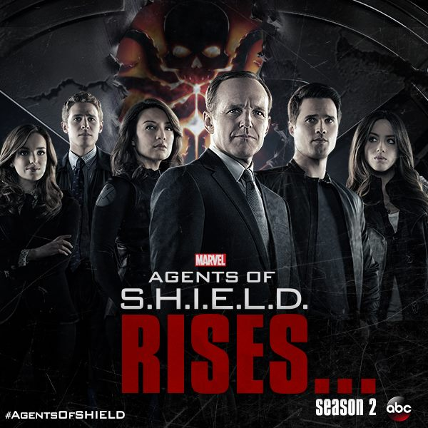 Agents of S.H.I.E.L.D. Season Two Teaser Poster